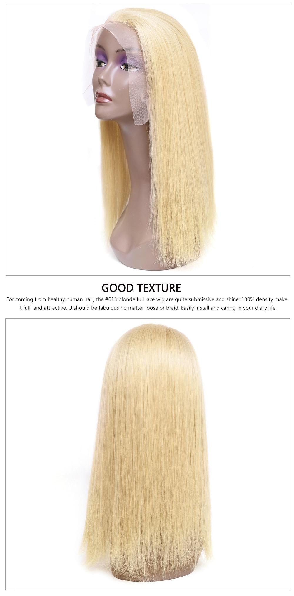 Full Lace wigs Human Hair for fashion women