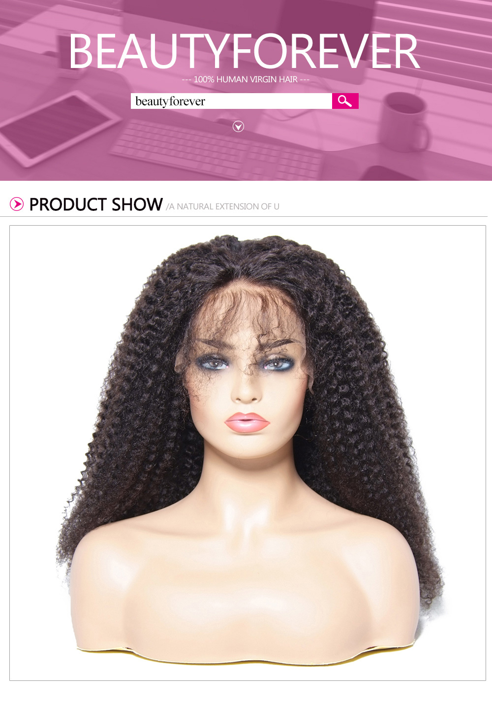 Afro Kinky Curly Wigs