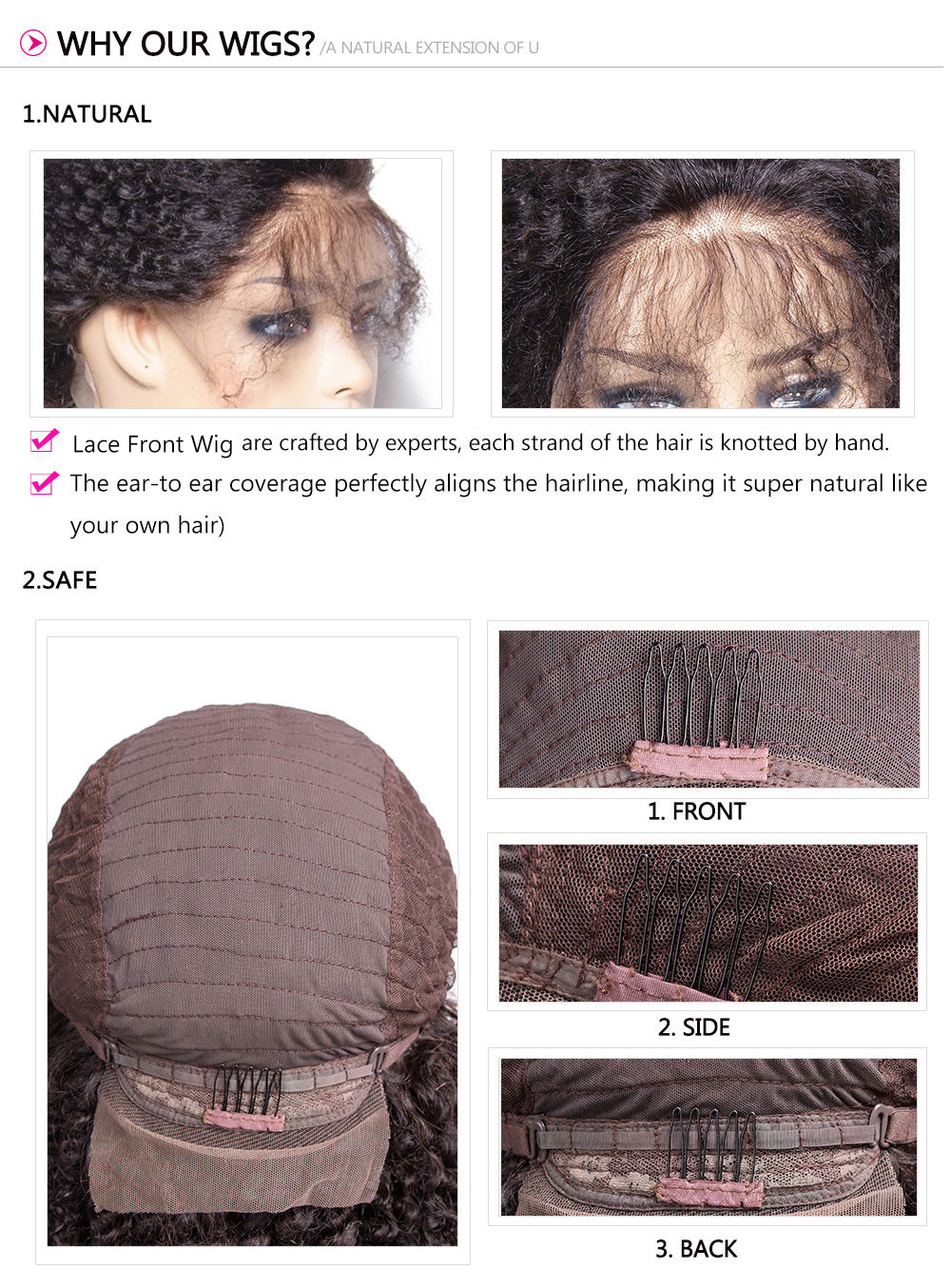 Cheap Afro Kinky Curly Wigs