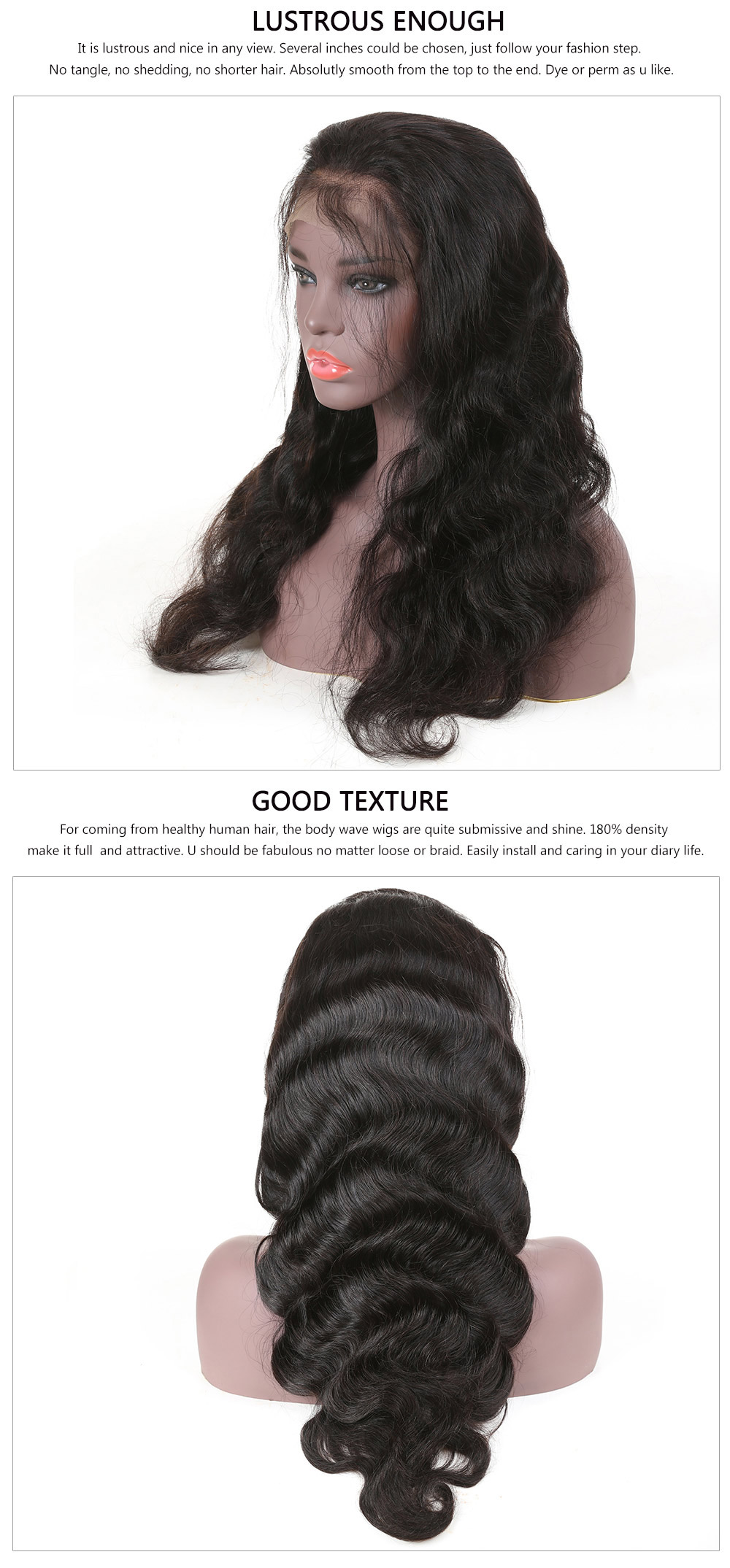 New Style Body Wave Lace Front Wig