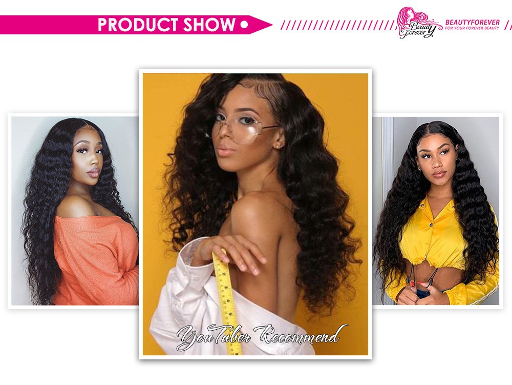 Deep Wave human Hair Wigs