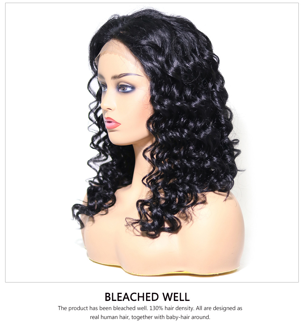 Awesome Medium Length Free Part Lace Front Curly Wig