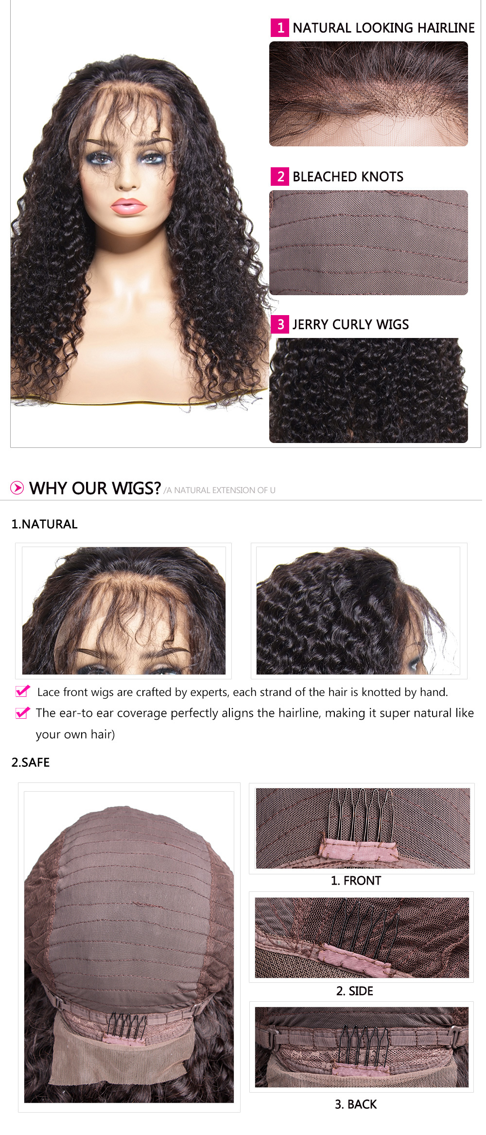 best quality Curly Wigs