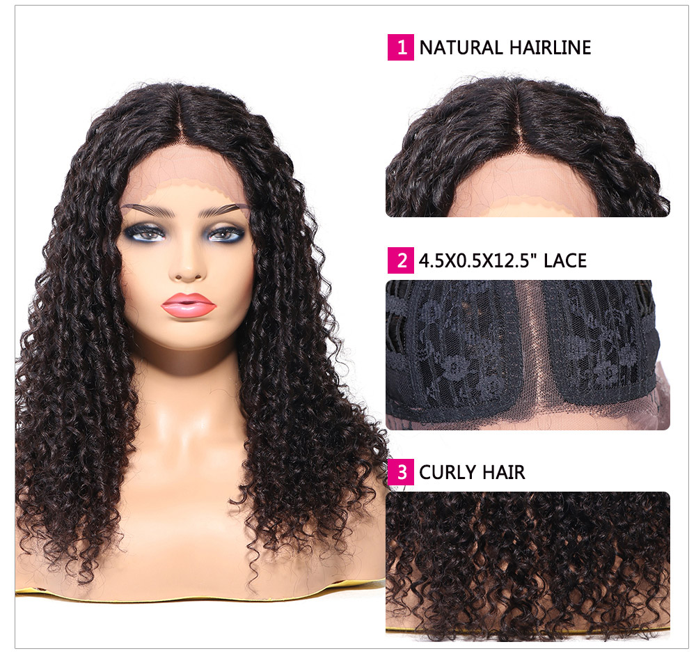 long jerry curly hair wig