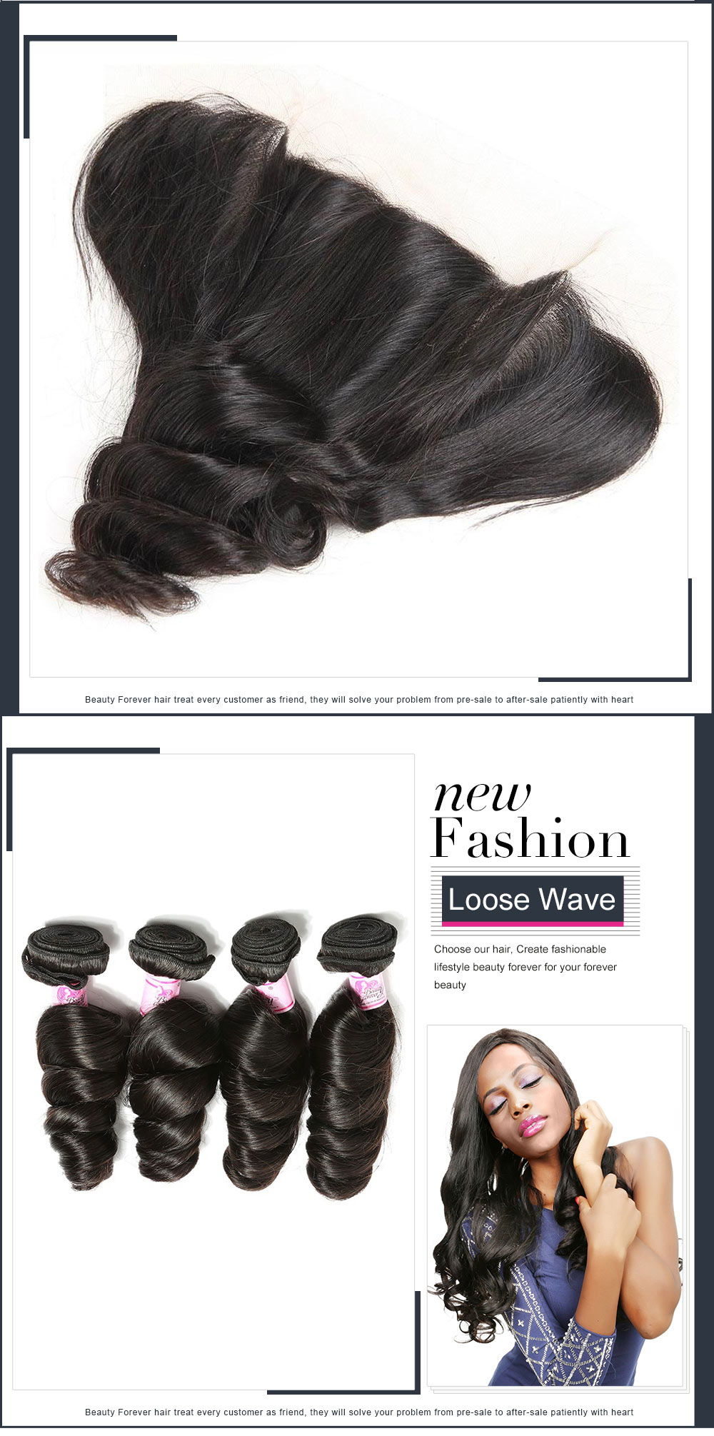 Indian loose wave Free Part Closure