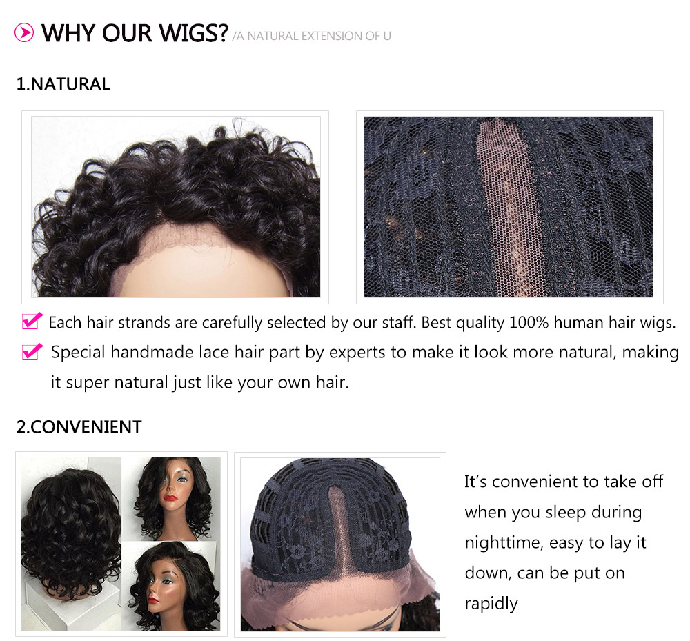 Short Curly Hair Wig