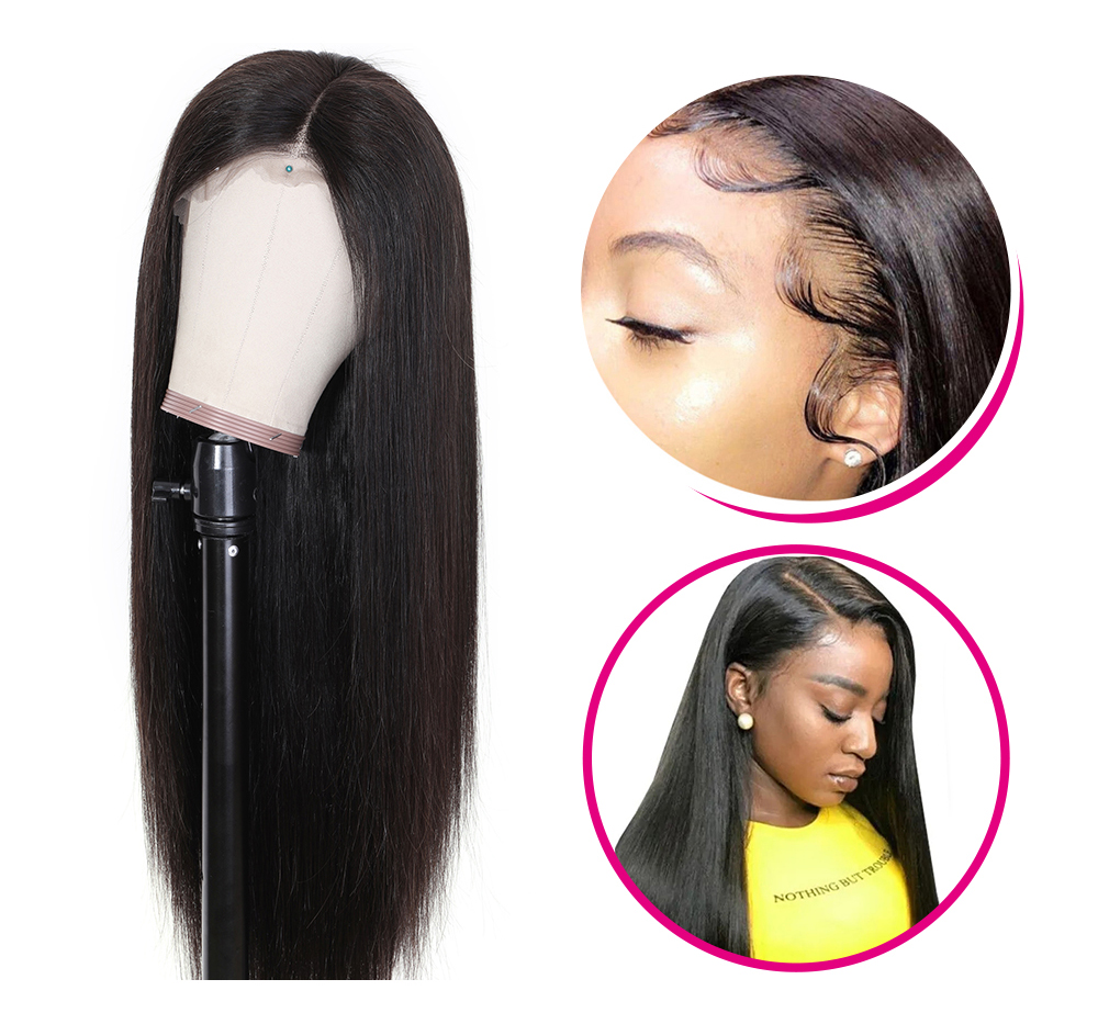 Best Quality Long Straight Human Hair Wigs