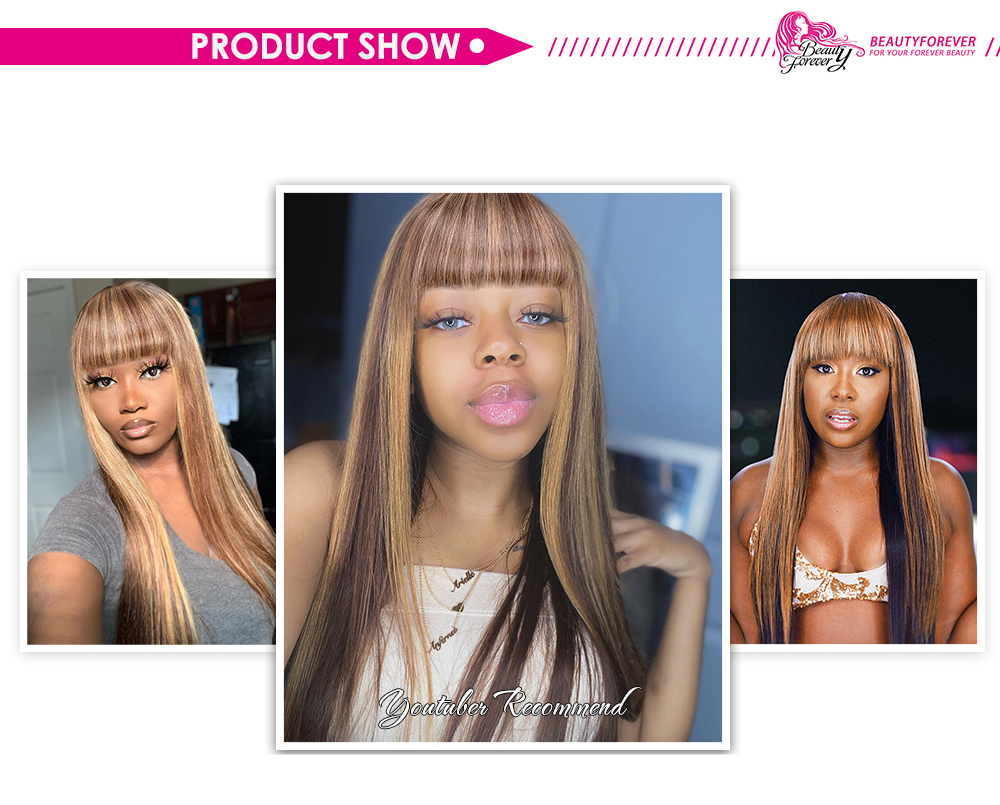 Glueless Human Hair Wigs