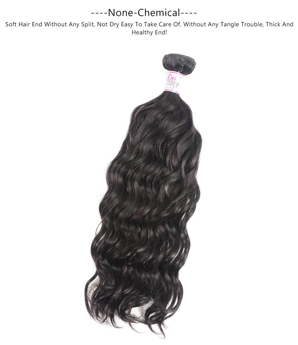Natural Wave Bundles Human Hair