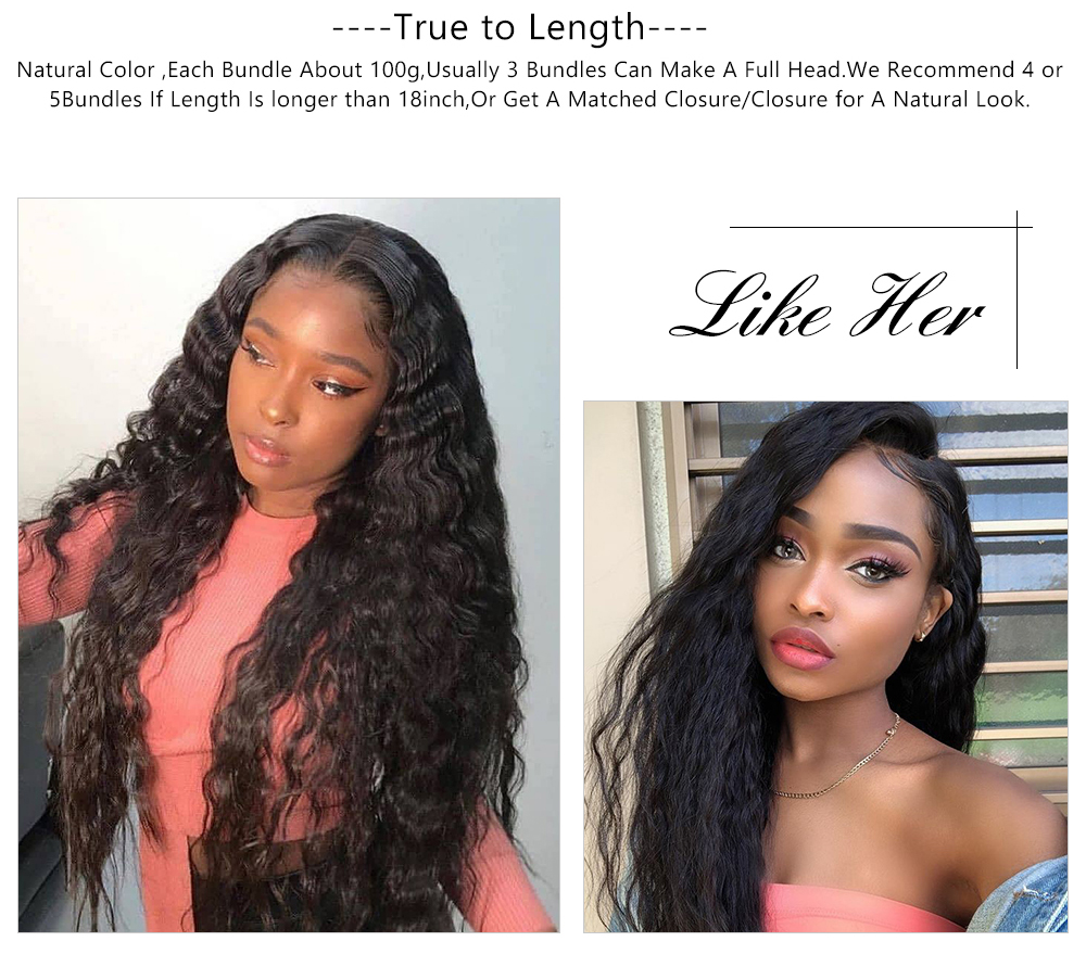 Super wave human hair wave