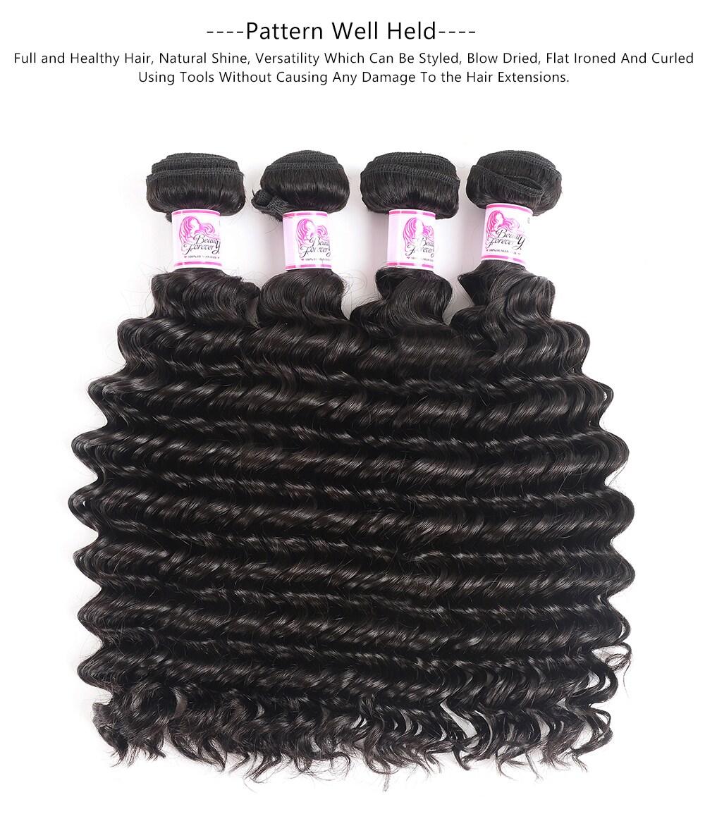Deep Wave Bundles Human Hair Wave
