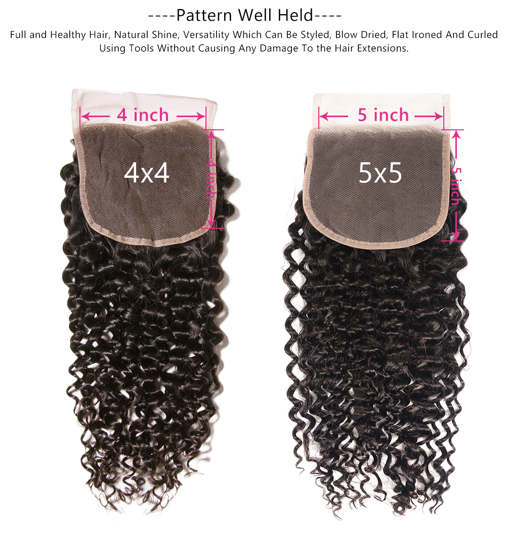 Jerry Curly lace closure