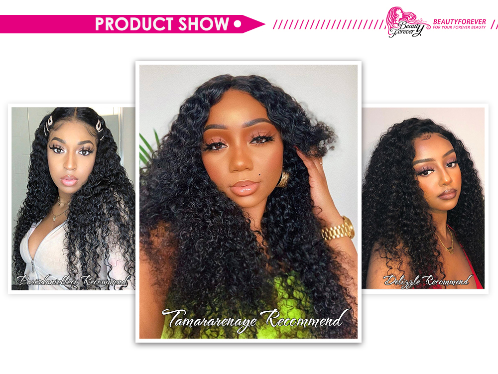 Jerry Curly 13x4 lace front wigs