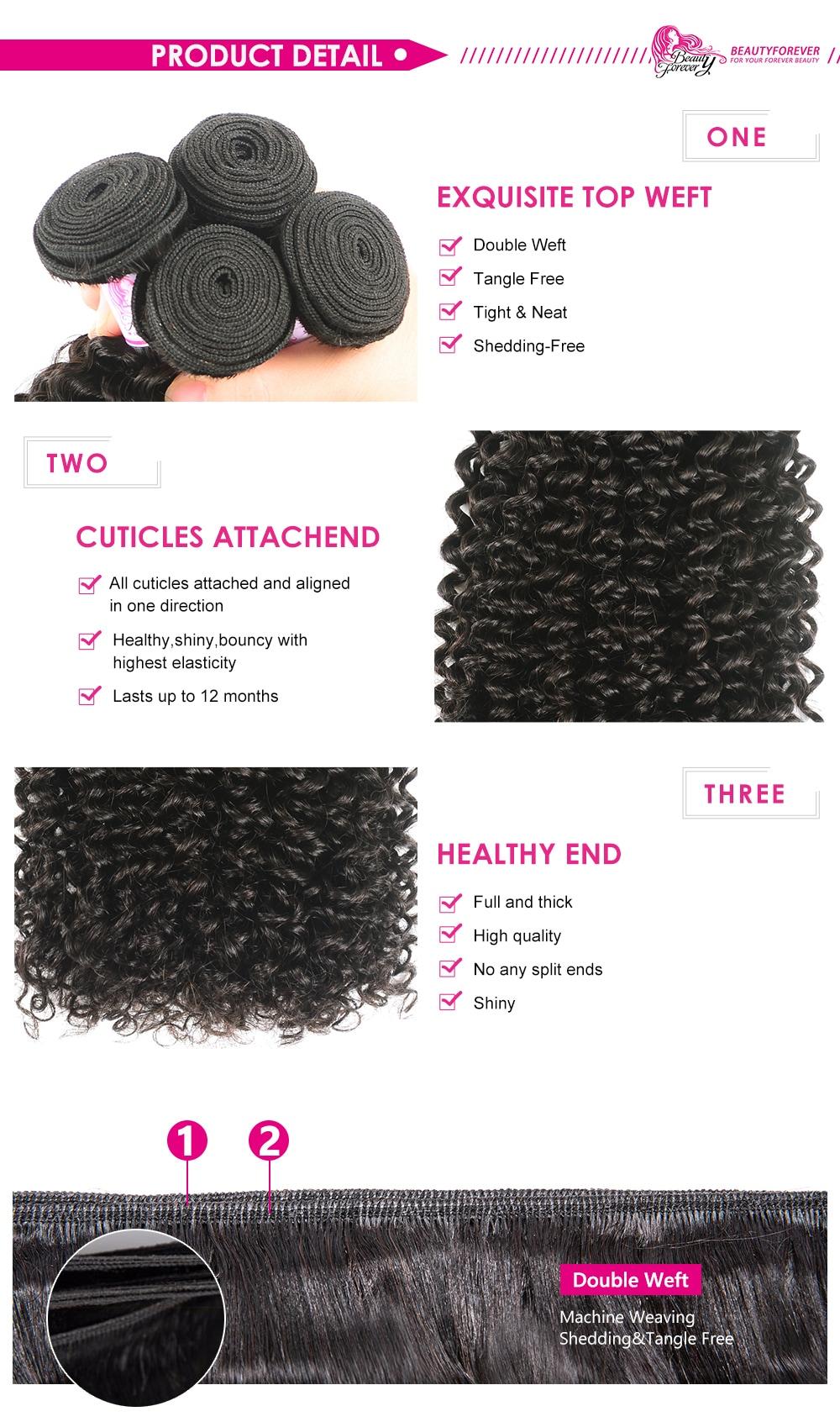 kinky curly human hair wave