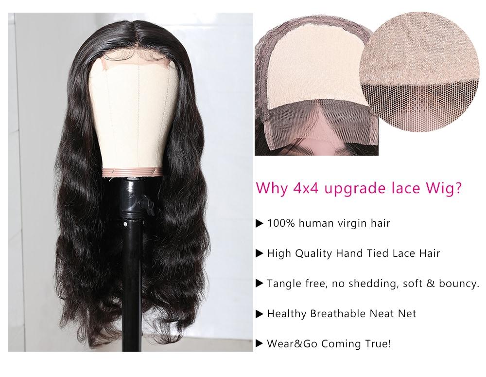Body Wave Human Hair Wig
