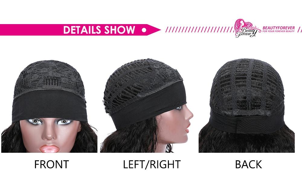 Headband Wig Water Wave Glueless