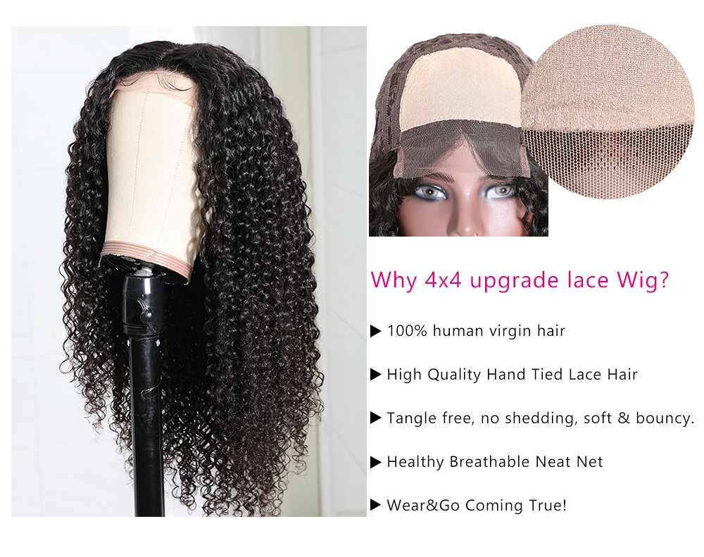 Jerry Curly lace Part wigs