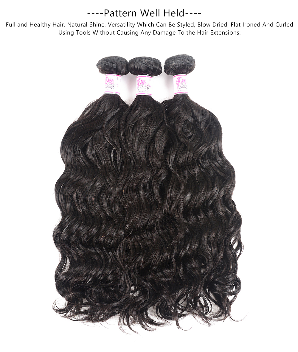Natural Wave Bundles Human Hair