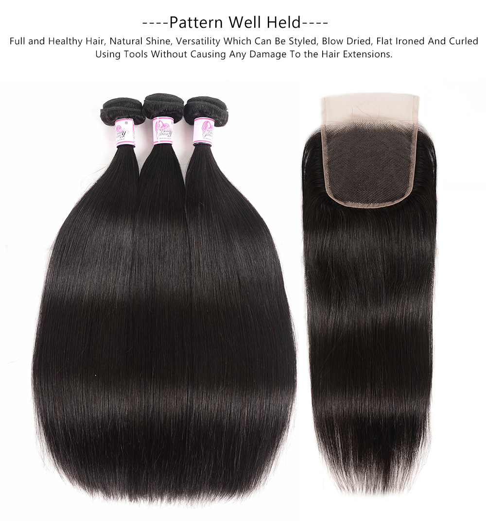 straight hair 3bundles